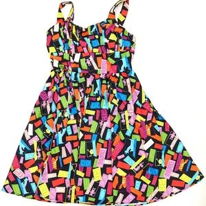 Disney Dress Shop Monsters Inc Doors Women's Dress